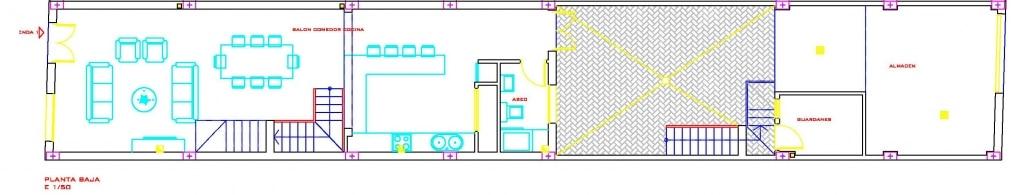 vivienda tipo 1 planta baja