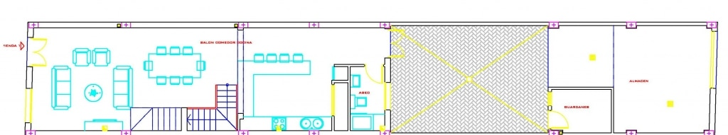 vivienda tipo 2 planta baja